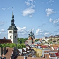 photo de la capitale d'estonie