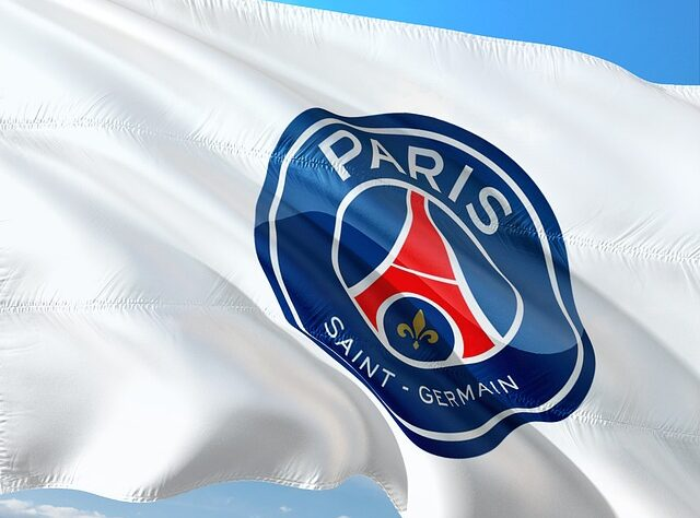 drapeau du psg