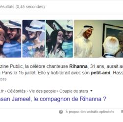 petit ami de Rihanna