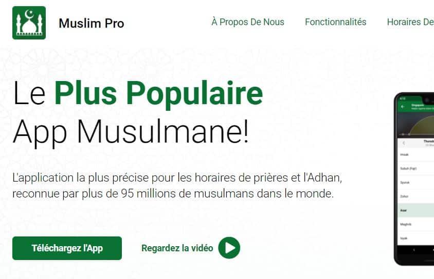 site muslim pro