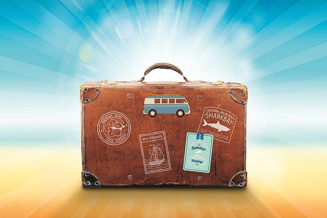 bagages emportés pour les vacances